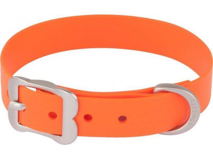 Obojek RD Vivid 25 mm x 56-66 cm - Oranžová