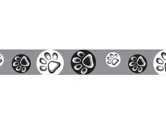 Obojek RD 20 mm x 30-47 cm - Paw Impressions BL