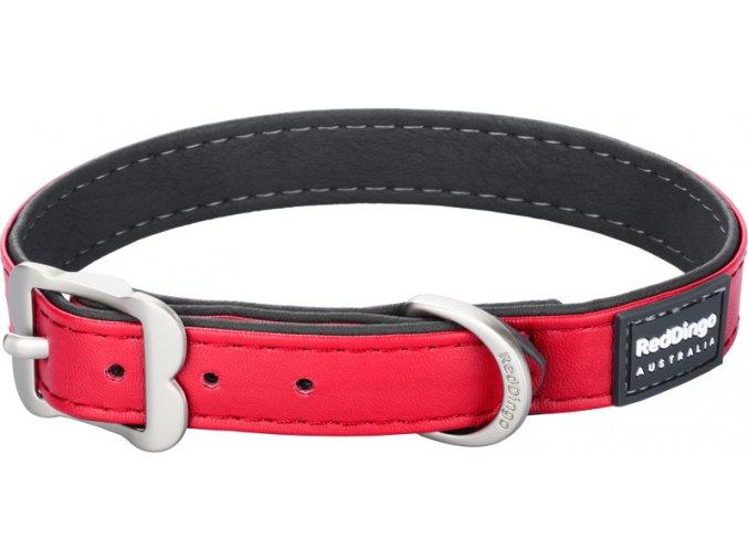 Obojek RD Elegant 25 mm x 48-58 cm - Červená