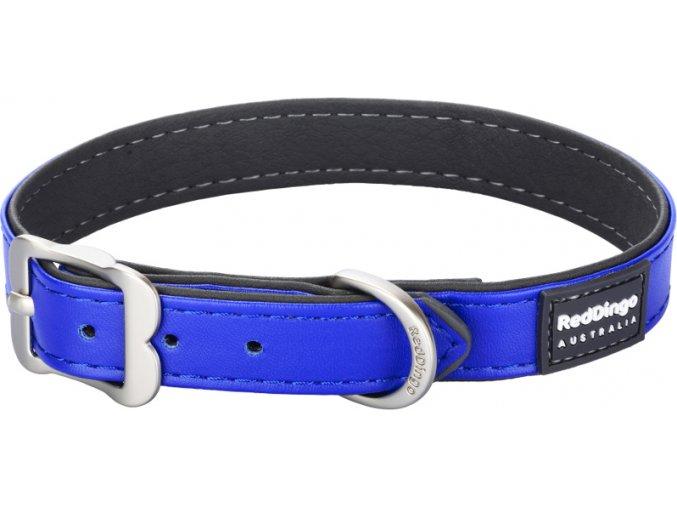 Obojek RD Elegant 25 mm x 48-58 cm - Tm.modrá