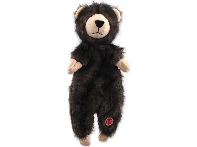 Hračka DOG FANTASY Skinneeez medvěd plyšový 34 cm 1ks