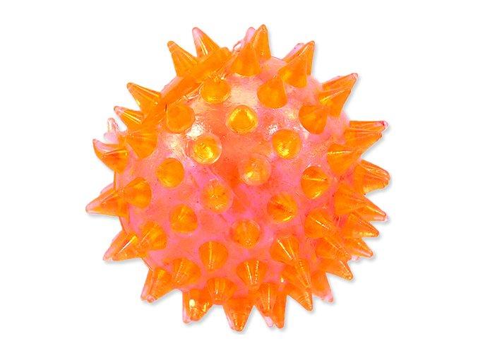 Hračka DOG FANTASY míček pískací oranžový 5 cm 1ks