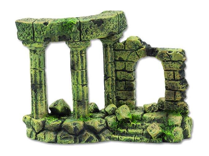 Dekorace AQUA EXCELLENT Zřícenina hradu 13 x 6 x 9 cm 1ks