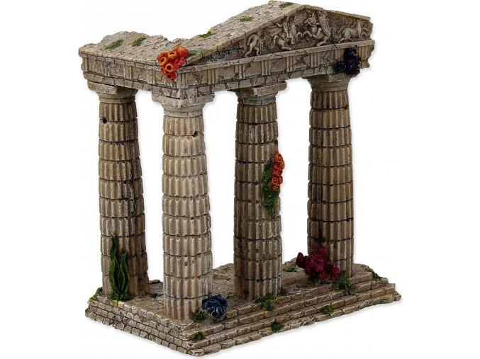 Dekorace AQUA EXCELLENT Zřícenina chrámu 15,5 cm 1ks