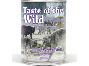 Taste of the Wild Sierra Mnt. konzerva 390g