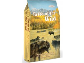 Taste of the Wild High Prairie pečený bizon a jehněčí 13kg