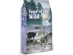 Taste of the Wild Sierra Mnt Canina pečené jehněčí 12,2kg