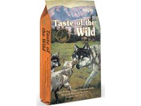 Taste of the Wild High Prairie Puppy pečený bizon a jehněčí pro štěňata 5,6kg