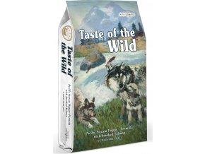 Taste of the Wild Pacific Stream Puppy uzený losos pro štěňata 5,6kg
