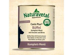 Naturavetal CanisPlus Komplett MenueBueffel 820g