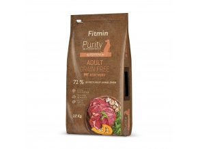fitmin dog purity gf adult beef 12 kg 1 kg h L