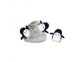 ZippyPaws Burrow - Tučňáci v jeskyni