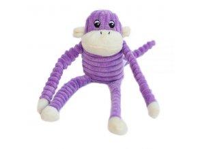 ZippyPaws Spencer - Opice fialová Small