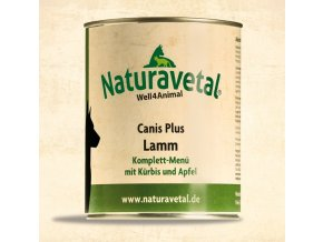 Naturavetal Canis Plus konzerva Jehněčí maso s dýní a jablkem