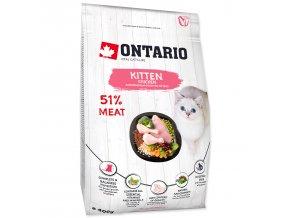 ONTARIO Kitten Chicken pro koťata kuřecí 0,4kg