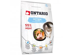 ONTARIO Kitten Salmon pro koťata losos 0,4kg