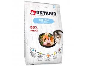 ONTARIO Kitten Salmon pro koťata losos 2kg
