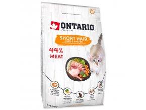 ONTARIO Cat Shorthair pro vybíravé kočky 0,4kg