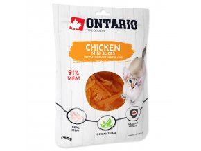 ONTARIO Mini Chicken Slices 50g