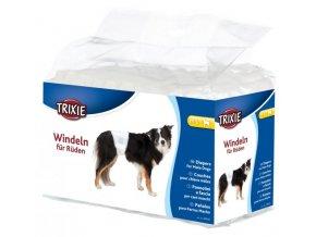 Papírové pleny pro psy M-L 45-60 cm [12 ks/bal.]