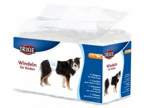 Papírové pleny pro psy L-XL 60-80 cm [12 ks/bal.]