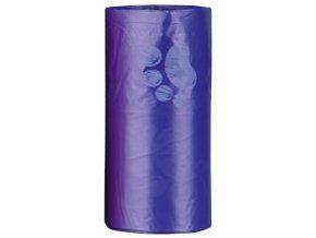Náhradní sáčky na trus L, barevné s packami (4 role á12 ks)