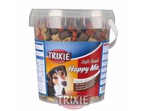 Soft Snack Happy MIX - kuře, jehněčí, losos, kyblík 500 g