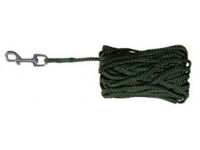 Stopovací vodítko šňůra 15m/5mm zelená