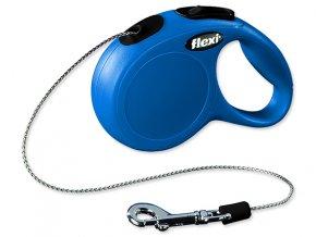 Vodítko FLEXI Classic New lanko modré XS - 3 m 1ks
