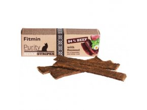 Fitmin Purity Snax Stripes Hovězí pochoutka pro kočky 35 g