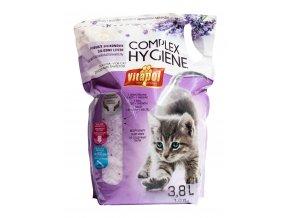 VITAPOL silicagel s levandulí COMPLEX HYGIENE pro kočky 3,8L
