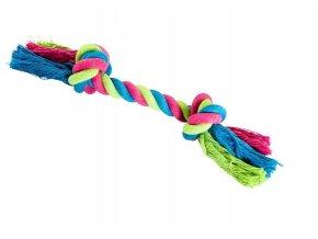 Uzel HipHop bavlněný 2 knoty 25cm/75g růžová, modrá, zelená