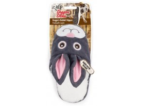 Plyšový pantofel králík
