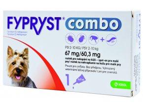 Fypryst combo spot on S (pes 2 10kg)