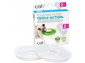 Fontána CATIT 2.0 Flower - náplň filtrační 2ks CATIT 2.0 Triple Action