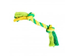 uzel hiphop bavlneny 2 knoty 20 cm 55 g limetkova zelena