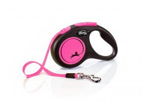 flexi New Neon S Tape 5m pink