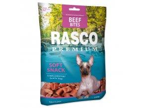 Pochoutka RASCO Premium kousky z hovězího masa 230g