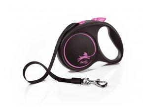 flexi Black Design M Tape 5m pink