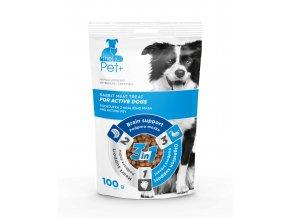 thePet+ pochoutka pro aktivní psy 100g
