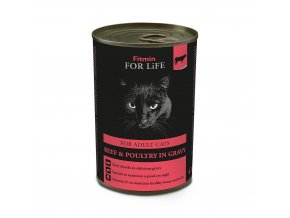 ffl cat tin adult beef 415g h L
