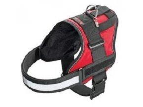 Postroj teflon XTREME červený reflex 80-100cm
