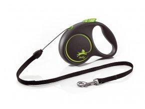 flexi Black Design S Cord 5m green
