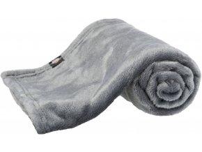 Plyšová deka Kimmy 70x50cm šedá