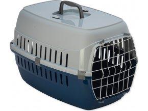Přepravka DOG FANTASY Carrier modrá 58 cm
