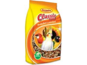 AVICENTRA standard pro malé papoušky igelit 1kg