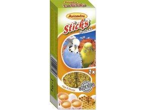 Avicentra tyčinky andulka - vejce+med 2ks