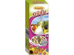 Avicentra tyčinky malý papoušek - vitam.+med 2ks