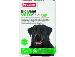 Obojek repelentní BEAPHAR Bio Band Veto Shield 65 cm 1ks