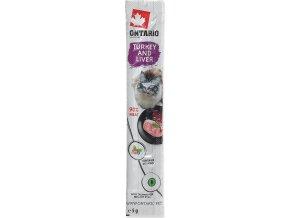 Stick ONTARIO for cats Turkey & Liver 5g